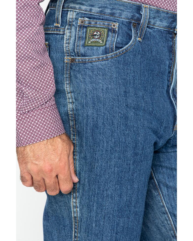 Cinch Men's Green Label Relaxed Fit Dark Stonewash Jeans , Dark Stone, hi-res