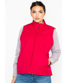 b561950b624 Berne Womens Nylon Quilted Trek Work Vest