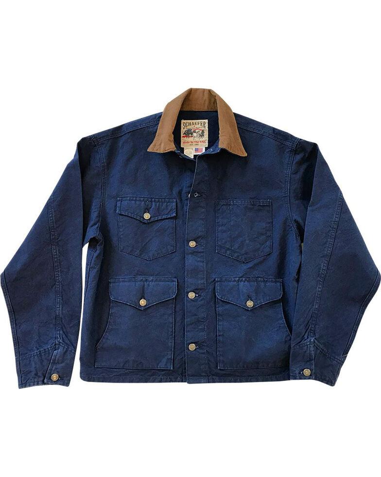 Schaefer Outfitter Men's Indigo Vintage Brush Jacket - 2XL, Indigo, hi-res