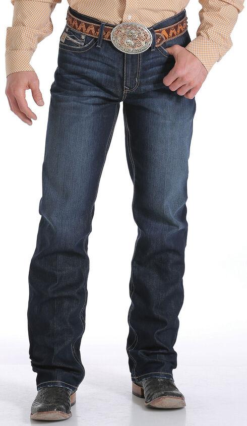 Cinch Men's Indigo Grant Mid Rise Performance Jeans - Relaxed Boot, Indigo, hi-res
