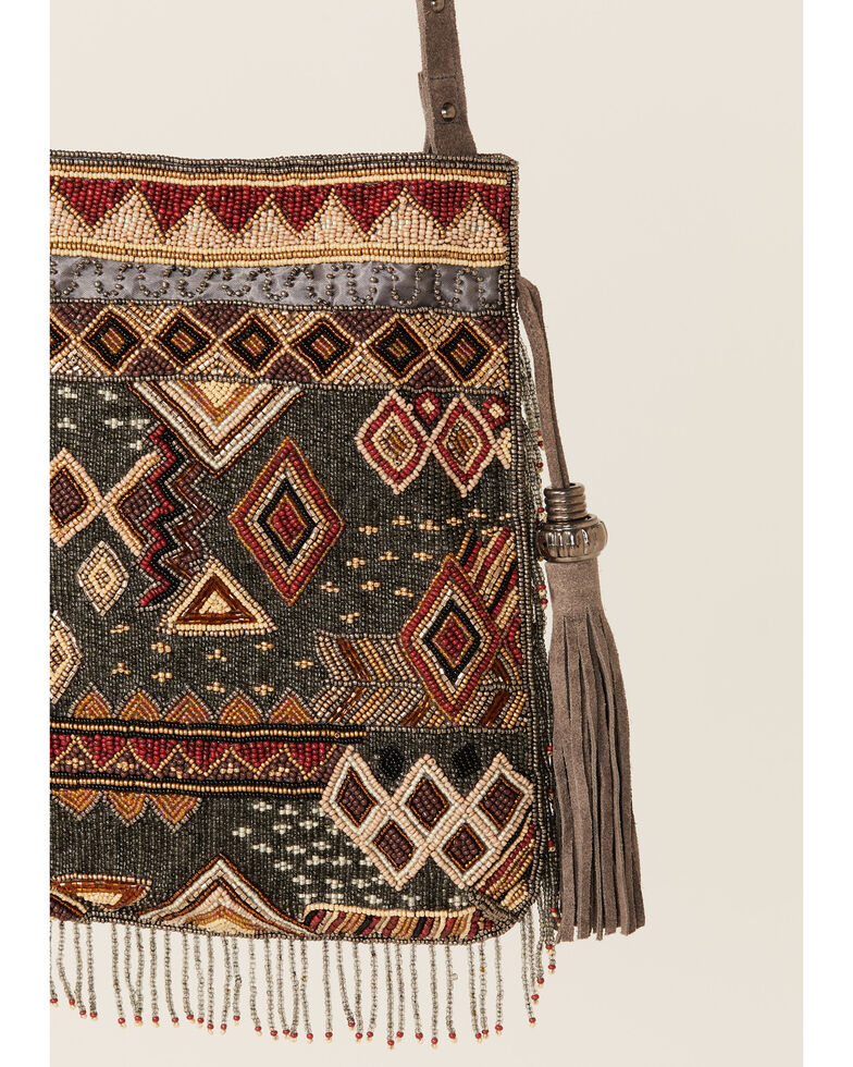 Mary Frances Women's Ethos Embroidered Crossbody, Multi, hi-res