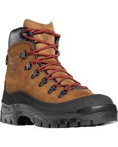 """Danner Men's 6"""" Crater Rim Hiking Boots, Brown, hi-res"""
