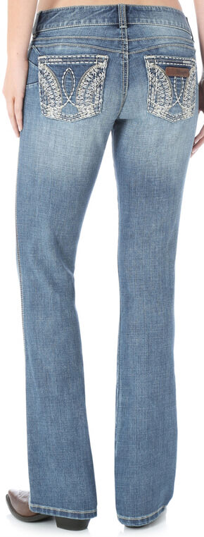 Wrangler Women's Light Wash Sadie Booty Up Jeans , Denim, hi-res