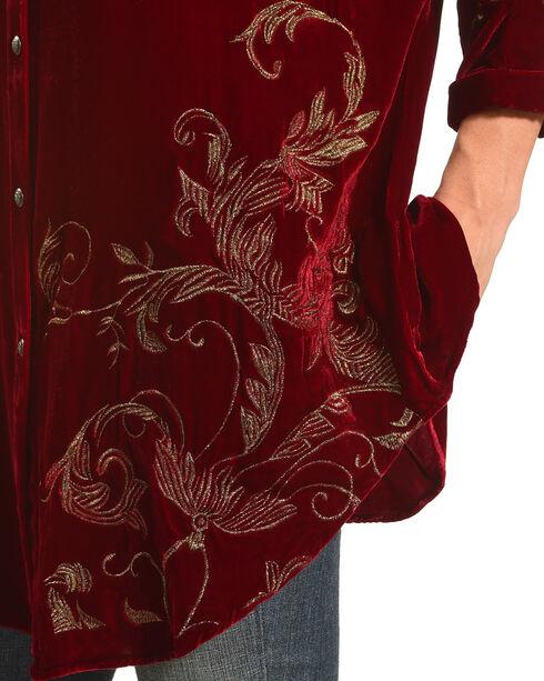 Tasha Polizzi Women's Red Bristol Tunic, Red, hi-res