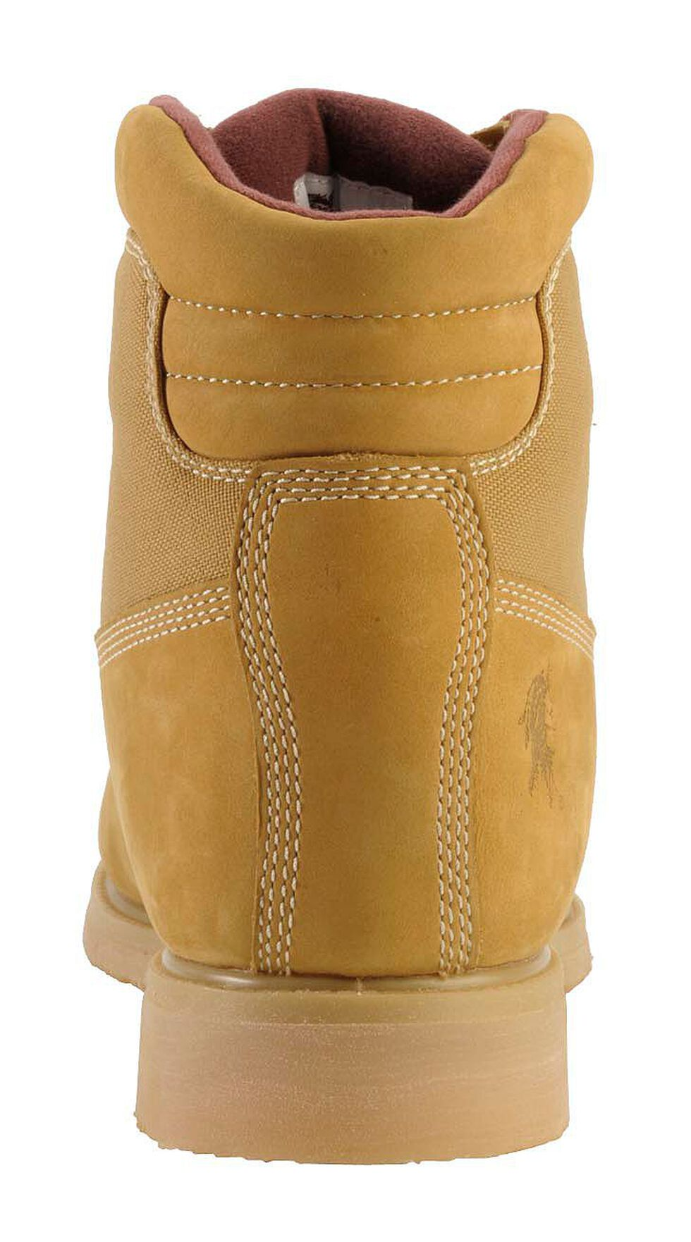 "Chippewa Waterproof & Insulated Nubuc 6"" Lace-Up Work Boots - Round Toe, Golden Tan, hi-res"