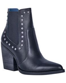 Dingo Women's Stay Sassy Fashion Booties - Snip Toe, Black, hi-res