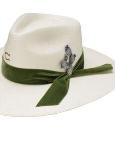 Charlie 1 Horse Women's 10X Hard To Handle Shantung Western Hat , Natural, hi-res