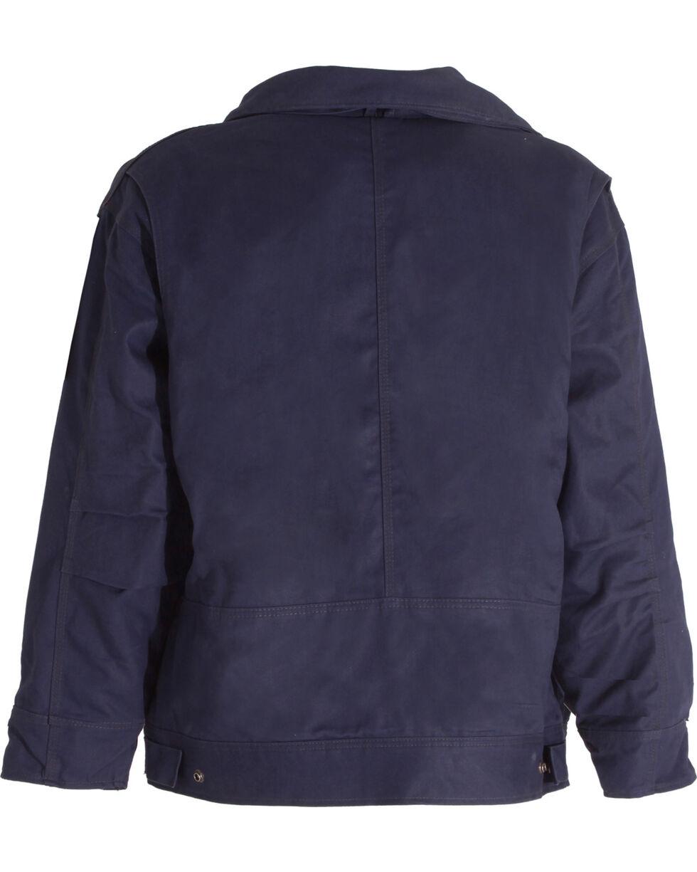 Berne FR Bomber Jacket, Navy, hi-res