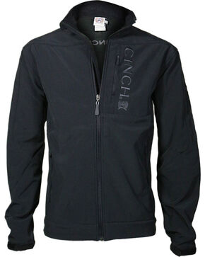 Cinch Men's Black 3XL Bonded Jacket - Big , Black, hi-res