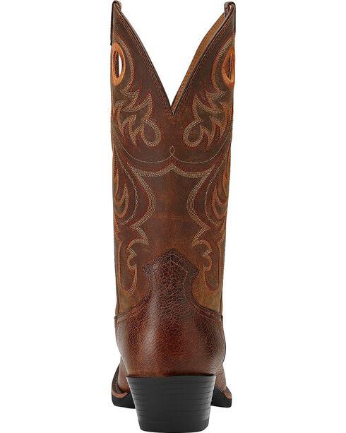 Ariat Sport Cowboy Boots - Square Toe, Brown, hi-res