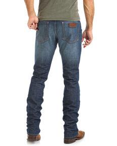 Wrangler Retro Men's Walkerville Med Wash Skinny Stretch Jeans, Blue, hi-res