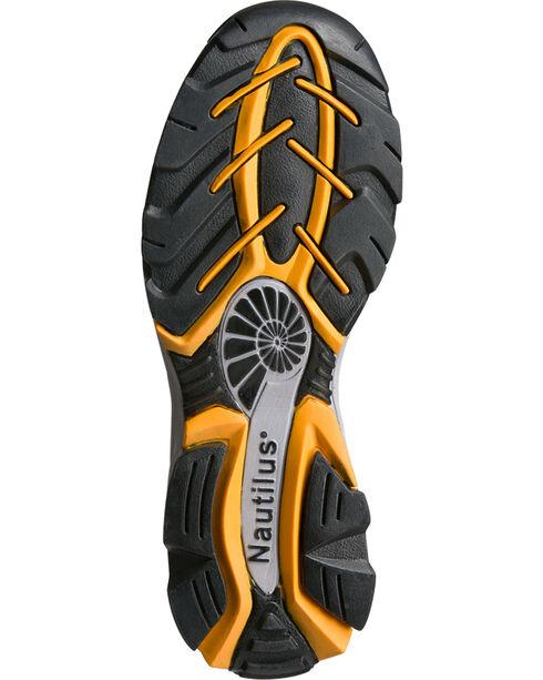Nautilus Men's Black ESD Athletic Work Shoes - Steel Toe, Black, hi-res