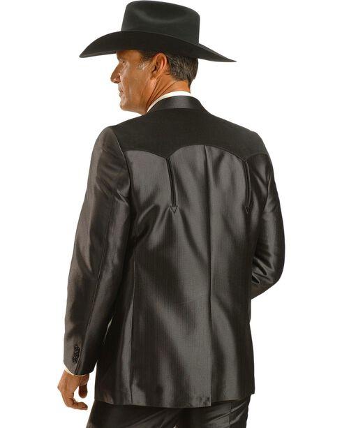 Circle S Boise Western Suit Coat - Short, Reg, Tall, Black, hi-res