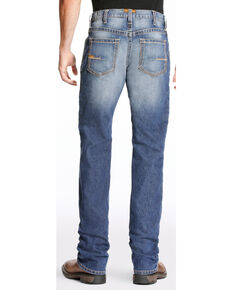 Ariat Men's Rebar M4 Edge Bootcut Jeans - Big, Indigo, hi-res