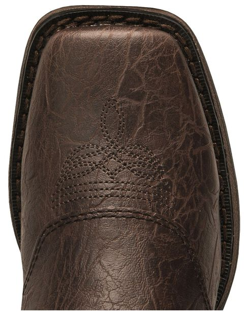 Durango Boys' Brown Lil' Rebel Cowboy Boots - Square Toe, Brown, hi-res