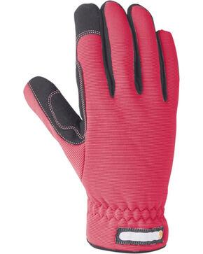 Carhartt Women's Flex Work Gloves, Grey, hi-res