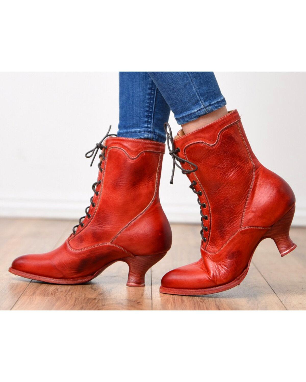 Oak Tree Farms Eleanor Red Boots
