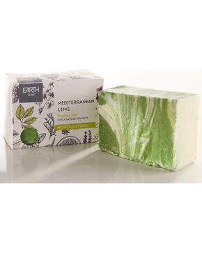 Earth Luxe Mediterranean Lime Salt All Natural Soap, No Color, hi-res