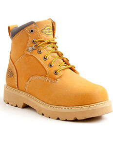 Dickies Men's Wheat Ranger Work Boots - Plain Toe, Wheat, hi-res