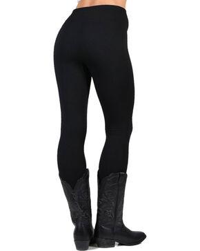 Boom Boom Jeans Women's Fleece Lined Leggings, Black, hi-res