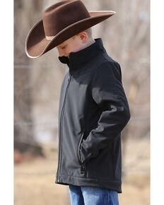 Cinch Boys' Black Bonded Jacket , Black, hi-res