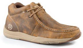 Roper Casual Chukka Boots, Tan, hi-res