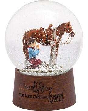 BB Ranch Praying Cowboy Snow Globe, No Color, hi-res