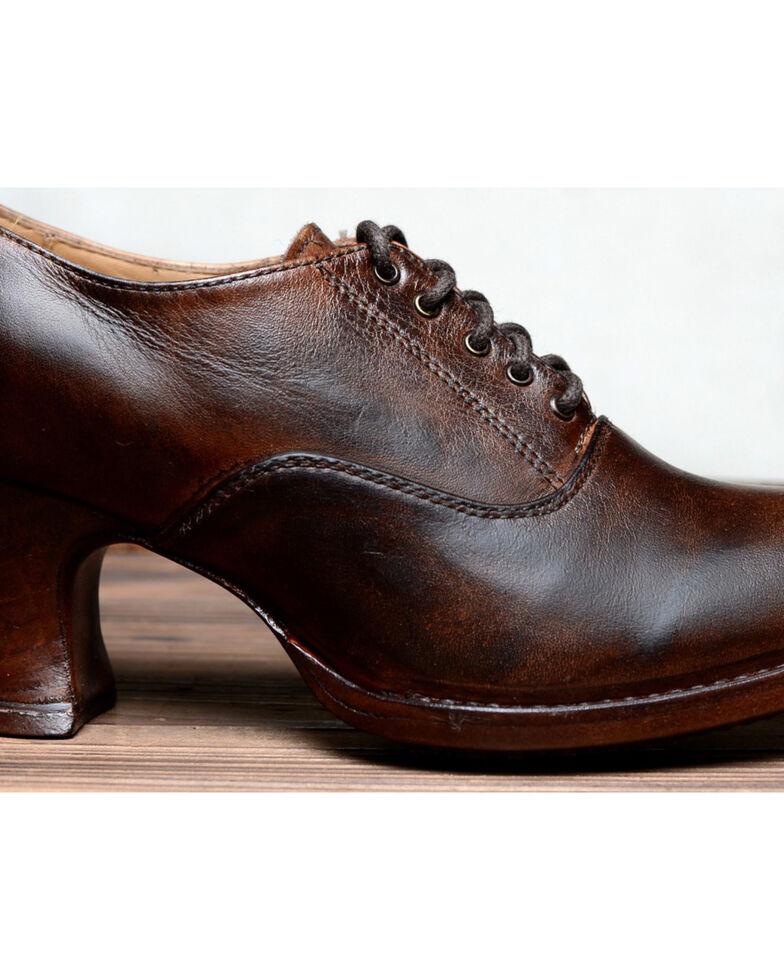 Oak Tree Farms Janet Brown Heels - Medium Toe, Dark Brown, hi-res