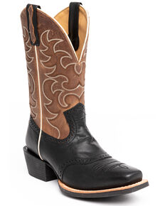 Cody James Men's Dunn Western Boots - Narrow Square Toe, Tan, hi-res