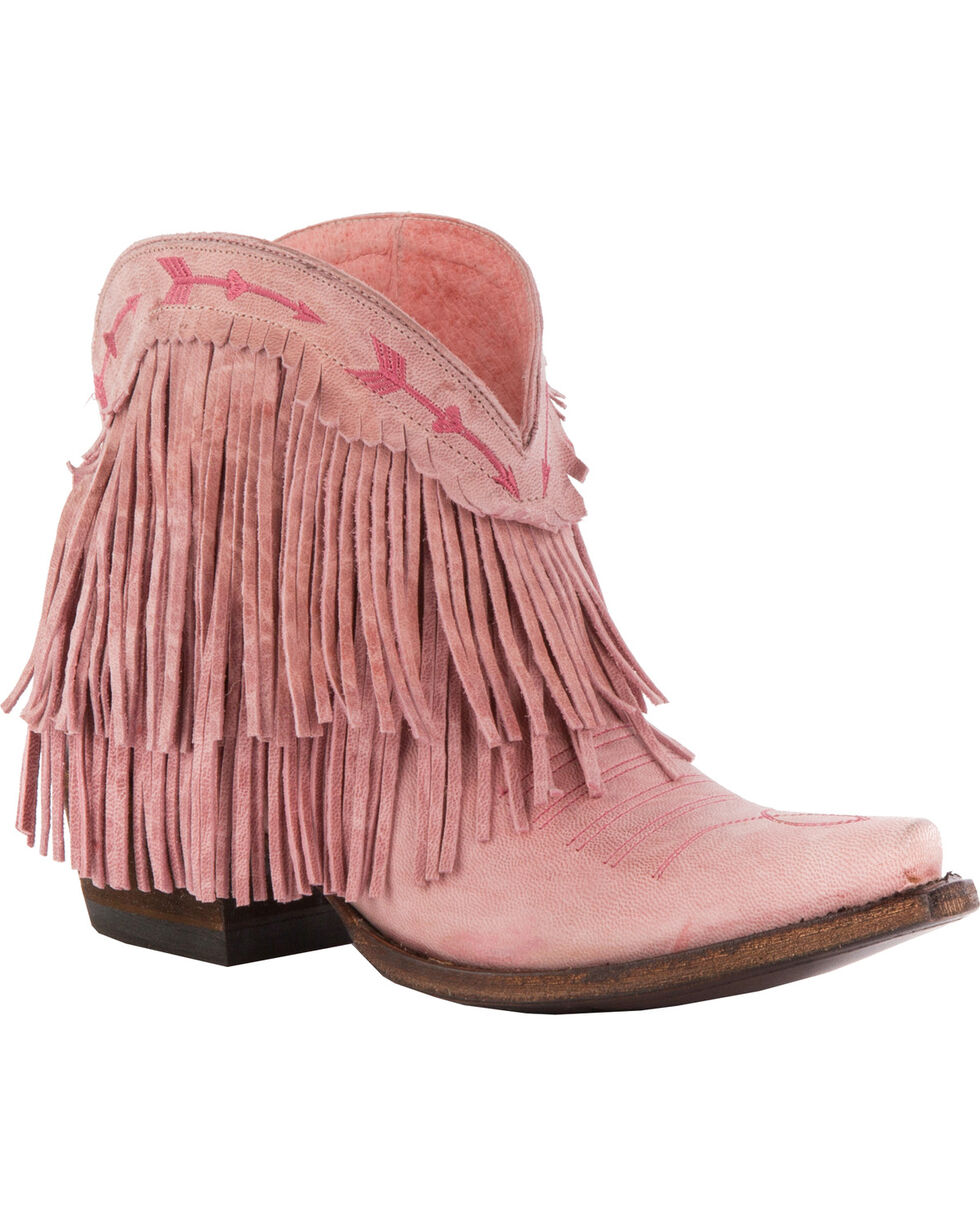 Junk Gypsy by Lane Women's Spitfire Boots - Snip Toe , Light Pink, hi-res