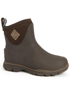 Muck Boots Men's Arctic Excursion Rubber Boots - Round Toe, Brown, hi-res
