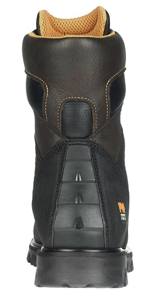 """Timberland Pro Men's 8"""" Rigmaster Waterproof Boots - Steel Toe, Brown, hi-res"""