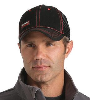 Cinch Men's WRX Black Workwear Cap, Black, hi-res