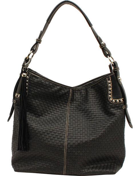 Blazin Roxx Women's Basketweave Shoulder Bag, , hi-res