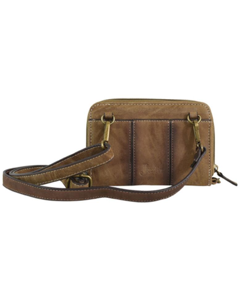 Justin Women's Wallet On A String, Brown, hi-res