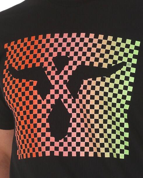 Wrangler 20X Men's Steerhead Screen Print Tee, Black, hi-res
