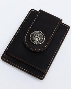 Cody James Men's Money Clip Wallet, Brown, hi-res