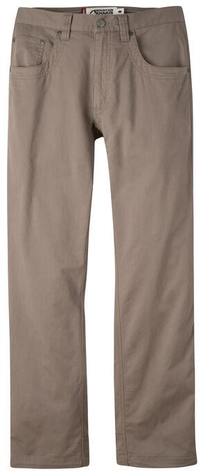 Mountain Khakis Men's Light Brown Camber Commuter Pants - Slim Fit , Light Brown, hi-res
