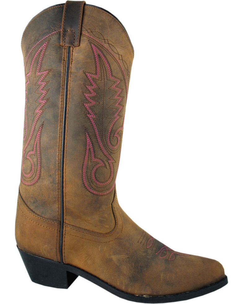 Smoky Mountain Taos Cowgirl Boots - Pointed Toe, Crazyhorse, hi-res