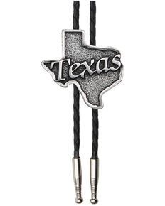 Cody James Silver State of Texas Bolo Tie, Bronze, hi-res