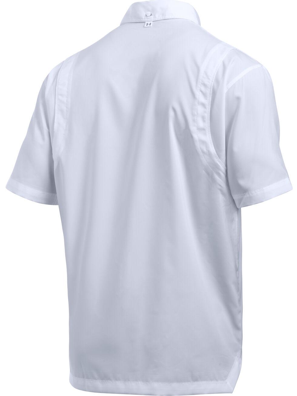 Under Armour Men's Tide Chaser Short Sleeve Shirt, White, hi-res