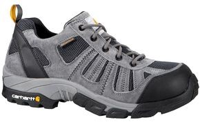 Carhartt Lightweight Waterproof Low Hiker Work Shoe, Grey, hi-res