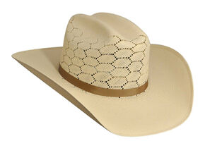 Bailey Enzo 20X Straw Cowboy Hat, Natural, hi-res
