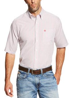 Ariat Men's Multi Ithaca Short Sleeve Shirt , Multi, hi-res