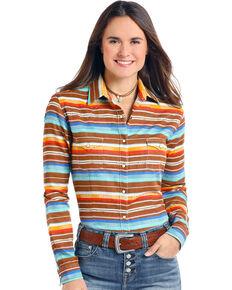 c5dc8359 Panhandle Womens Aztec Long Sleeve Shirt, Multi, hi-res