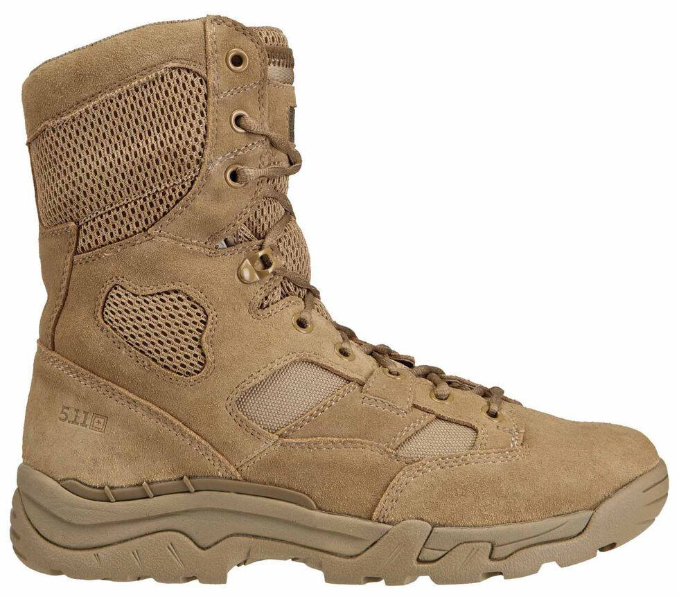 """5.11 Tactical Men's Taclite 8"""" Coyote Boots, , hi-res"""