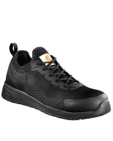 Carhartt Men's Force Work Sneakers - Composite Toe, Black, hi-res