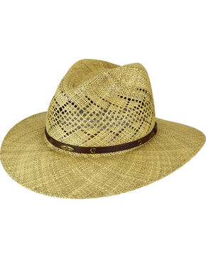 Eddy Bros. by Bailey Digby Seagrass Outback Hat, Natural, hi-res