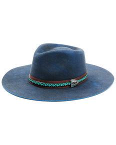 Bullhide Women's Navy Nashville Fun Premium Wool Felt Western Hat , Navy, hi-res