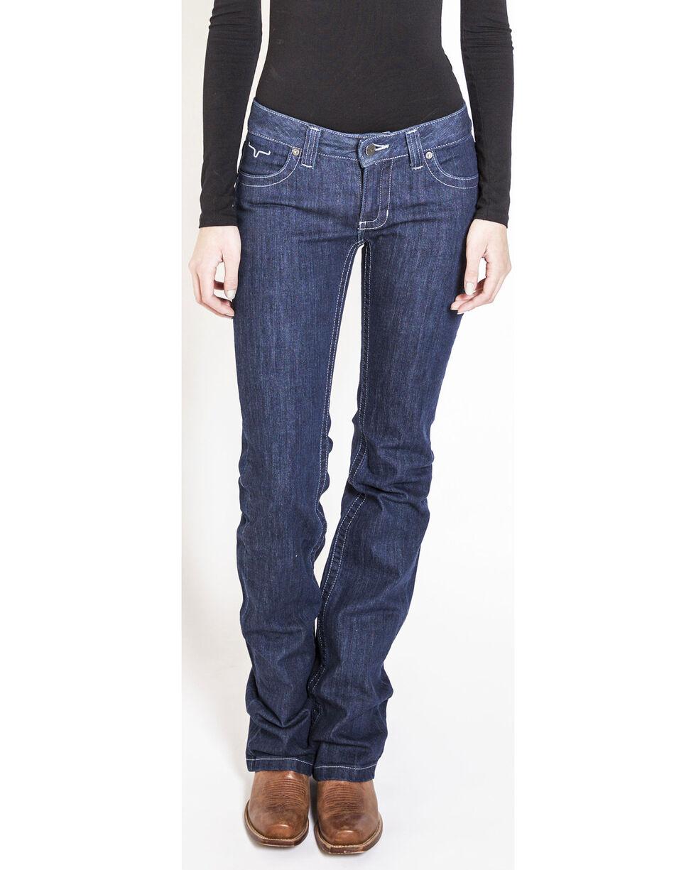 Kimes Ranch Women's Jolene Flare Boot Cut Jeans, Indigo, hi-res
